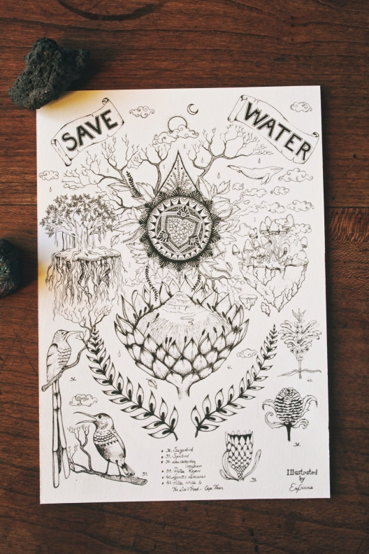 Save Water,