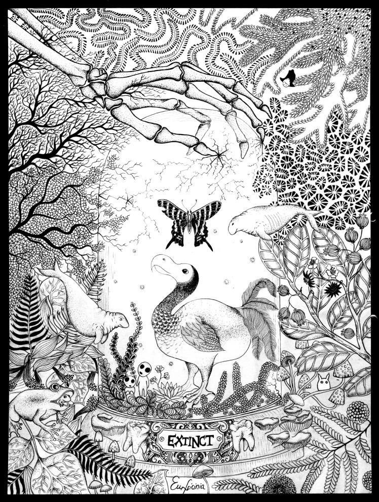 Urania Sloanus, Rhytine & Raphus Cucullatus_Fotor